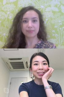 Tokyo Mental Health psychologists during a video call.